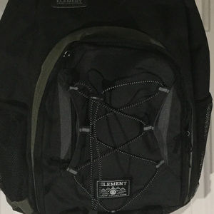 87880984db1a Element Bags - NWT Element Hilltop Black   Army Green Backpack